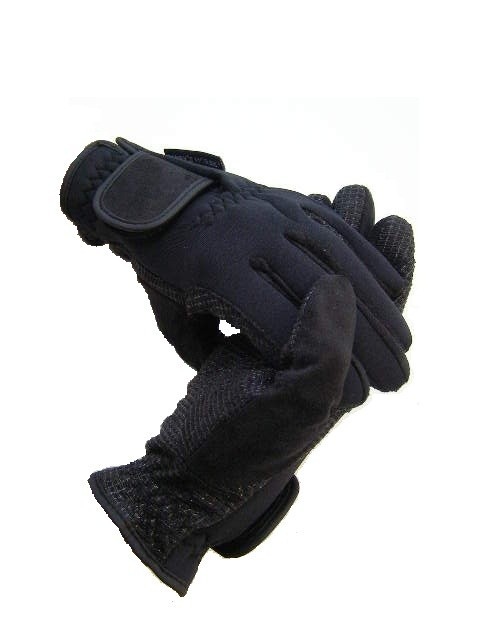neopren handschuhe winterhandschuhe schwarz m sl griff reiter reitmode m tzen handschuhe. Black Bedroom Furniture Sets. Home Design Ideas